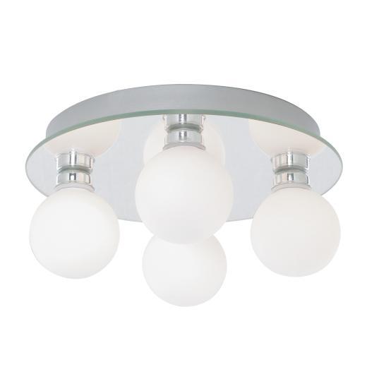 Searchlight 4337 4 Led Bathroom Ceiling Light Ing Global